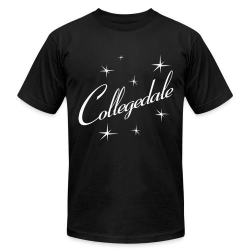 Collegedale Black Mens - Men's Fine Jersey T-Shirt