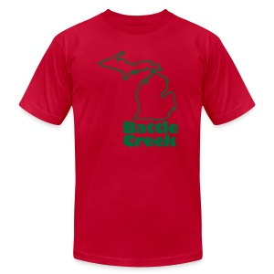 Battle Creek Green Mens - Men's T-Shirt by American Apparel