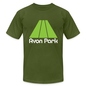 Avon Park Olive Mens - Men's T-Shirt by American Apparel