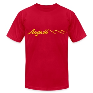 Angwin Orange Mens - Men's T-Shirt by American Apparel
