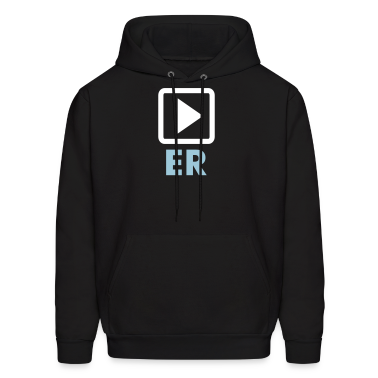 Black Retro Play On Player and Player Apparel Hoodies