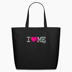 Black i love me by wam Bags