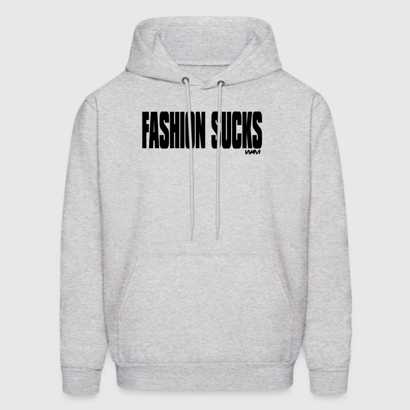 Ash  fashion sucks by wam Hoodies - Men's Hoodie