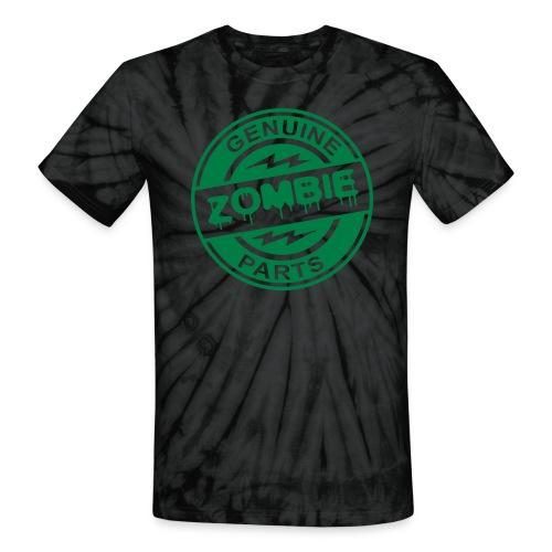 Zombie Parts Tie Dye - Unisex Tie Dye T-Shirt