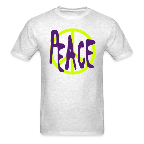 Peace T-shirt Grey - Men's T-Shirt