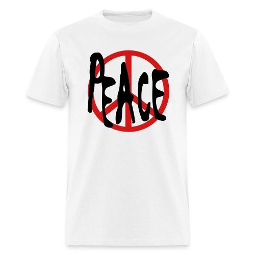 Peace T-shirt White - Men's T-Shirt