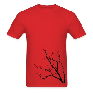 Tree T-shirt Red - Men's T-Shirt