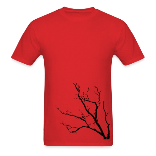 Tree T-shirt Red - Men's T-Shirt