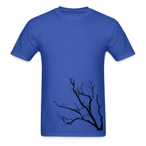 Tree T-shirt Blue - Men's T-Shirt