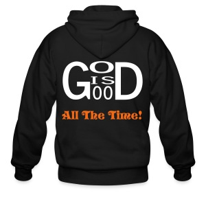 God Is Good - Men's Zip Hoodie