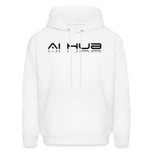 AI Hub Hoodie - White - Men's Hoodie