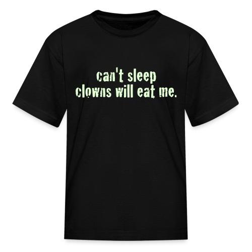 glow in the dark childrens t-shirt - Kids' T-Shirt