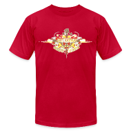 T-Shirts ~ Men's T-Shirt by American Apparel ~ Restoration Wreath (Autumn)