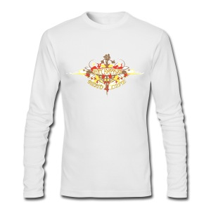 Restoration Wreath (Autumn) - Men's Long Sleeve T-Shirt by Next Level