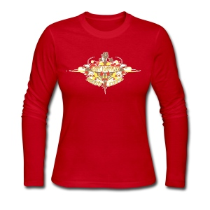 Restoration Wreath (Autumn) - Women's Long Sleeve Jersey T-Shirt