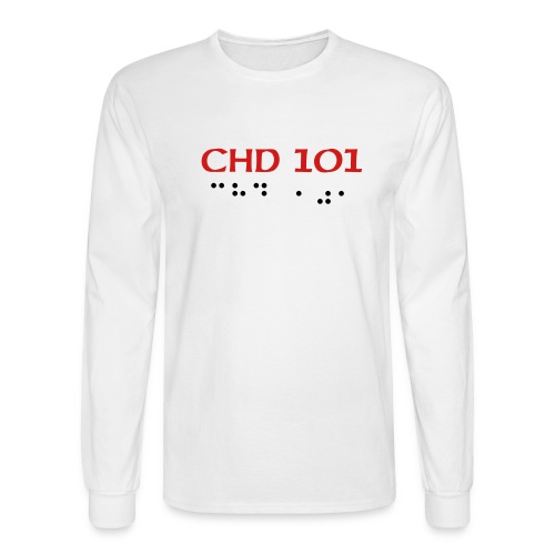 CHD 101 ADULT LONGSLEEVE - Men's Long Sleeve T-Shirt