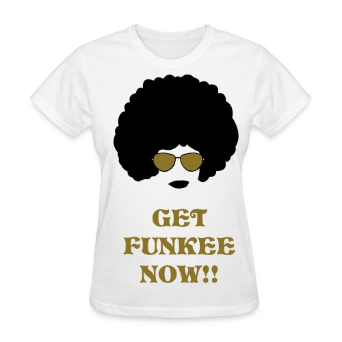 OFFICIAL FUNKEE DEZIGNZ TEE FOR LADIEZ - Women's T-Shirt