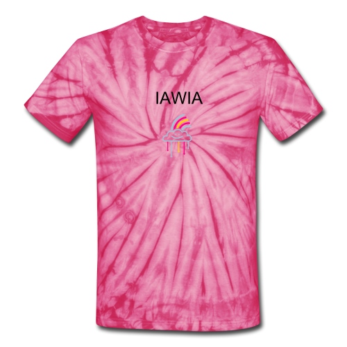 IAWIA Gay T-Shirt design - Unisex Tie Dye T-Shirt