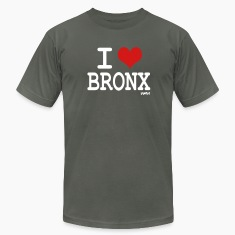 Asphalt i love bronx NYC by wam T-Shirts