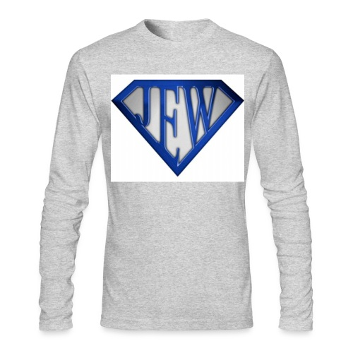 superjew blue men's long sleeve - Men's Long Sleeve T-Shirt by Next Level