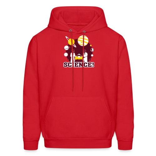 Atomic Nativity [nativity] - Men's Hoodie