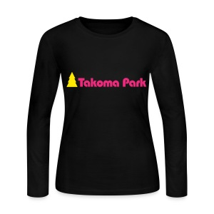 Takoma Park Long Sleeve Female - Women's Long Sleeve Jersey T-Shirt