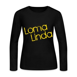 Loma Linda Long Sleeve Female - Women's Long Sleeve Jersey T-Shirt