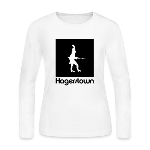 Hagerstown  Long Sleeve Womens - Women's Long Sleeve Jersey T-Shirt