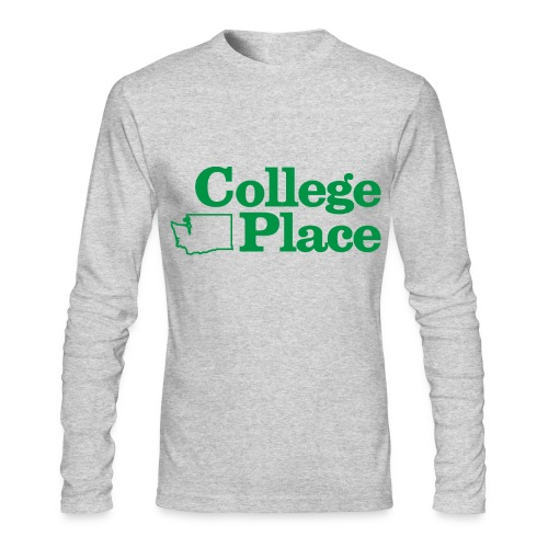 College Place Long Sleeve Mens - Men's Long Sleeve T-Shirt by Next Level