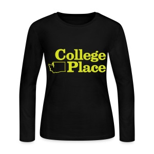 College Place Long Sleeve Womens - Women's Long Sleeve Jersey T-Shirt