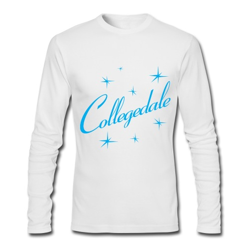 Collegedale Long Sleeve Mens - Men's Long Sleeve T-Shirt by Next Level