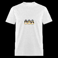 T-Shirts ~ Men's T-Shirt ~ See, Hear, Speak No Evil