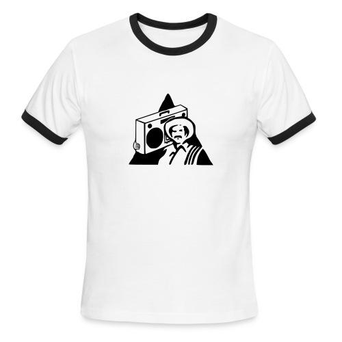 Juan Valdez with box - Men's Ringer T-Shirt