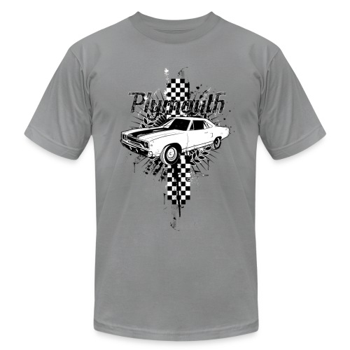 Clasic Plymouth Checkerboard - Men's Fine Jersey T-Shirt