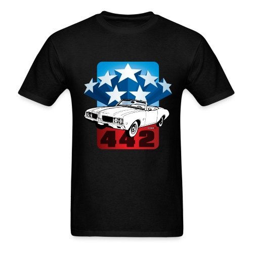 Olds 442 Patriotic - Men's T-Shirt