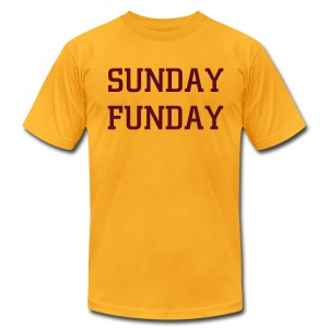 Funday - Men's T-Shirt by American Apparel