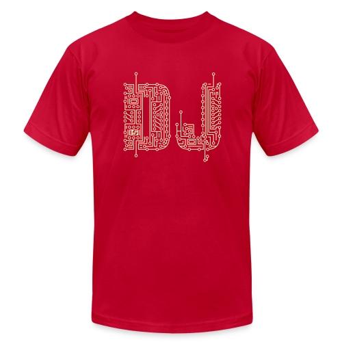 DJ - Men's Fine Jersey T-Shirt