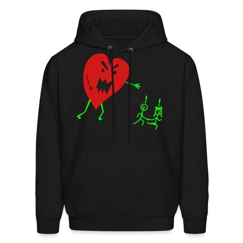 Heart Monster - Men's Hoodie