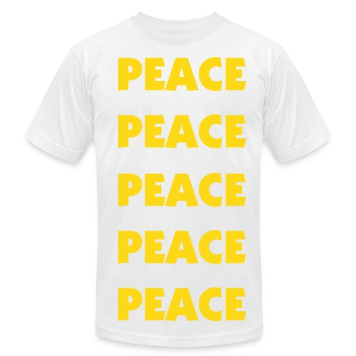 PEACE - Men's Fine Jersey T-Shirt