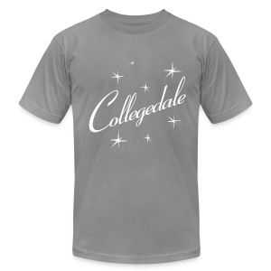 Collegedale Grey Mens - Men's T-Shirt by American Apparel