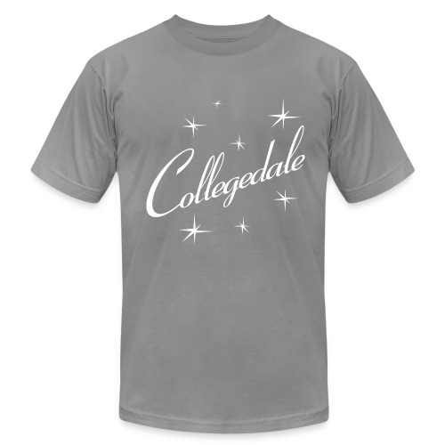Collegedale Grey Mens - Men's Fine Jersey T-Shirt