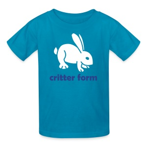 Critter Form - Kids' T-Shirt