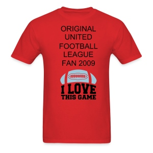 FIRST UFL FAN T SHIRT - Men's T-Shirt