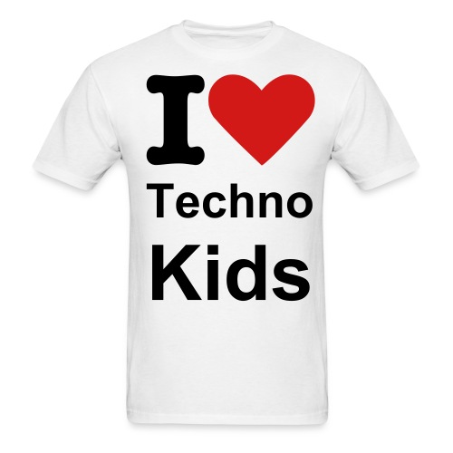 OG I LOVE TECHNO KIDS TEE - Men's T-Shirt