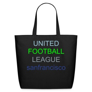 ECO-FRIENDLY COTTON TOTE BAG/TEAM SF - Eco-Friendly Cotton Tote