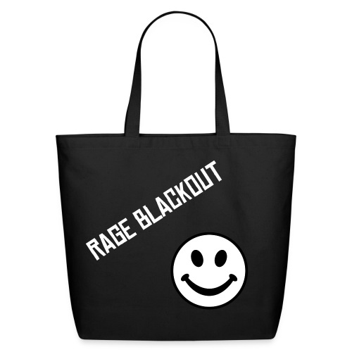 Rage Blackout - Eco-Friendly Cotton Tote