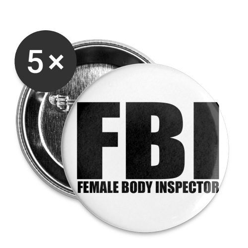 FBI Pin - Large Buttons
