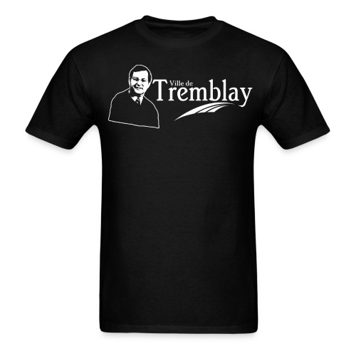 Chandail Ville de Tremblay avec Jean Tremblay - Men's T-Shirt