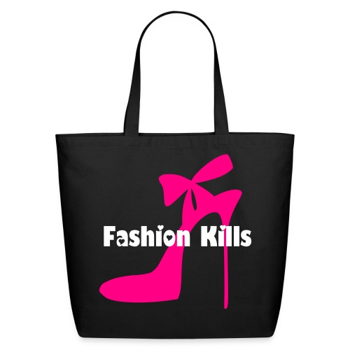 Fashion Kills - Eco-Friendly Cotton Tote
