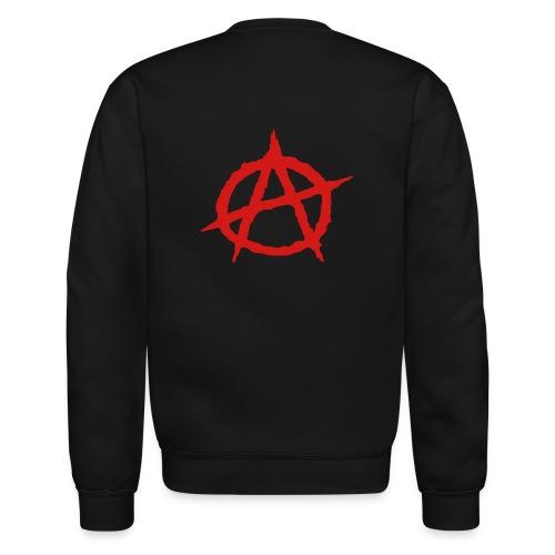 Crewneck Sweatshirt - Flex Print, 7.9 inch x 6.9 inch, Anarchy